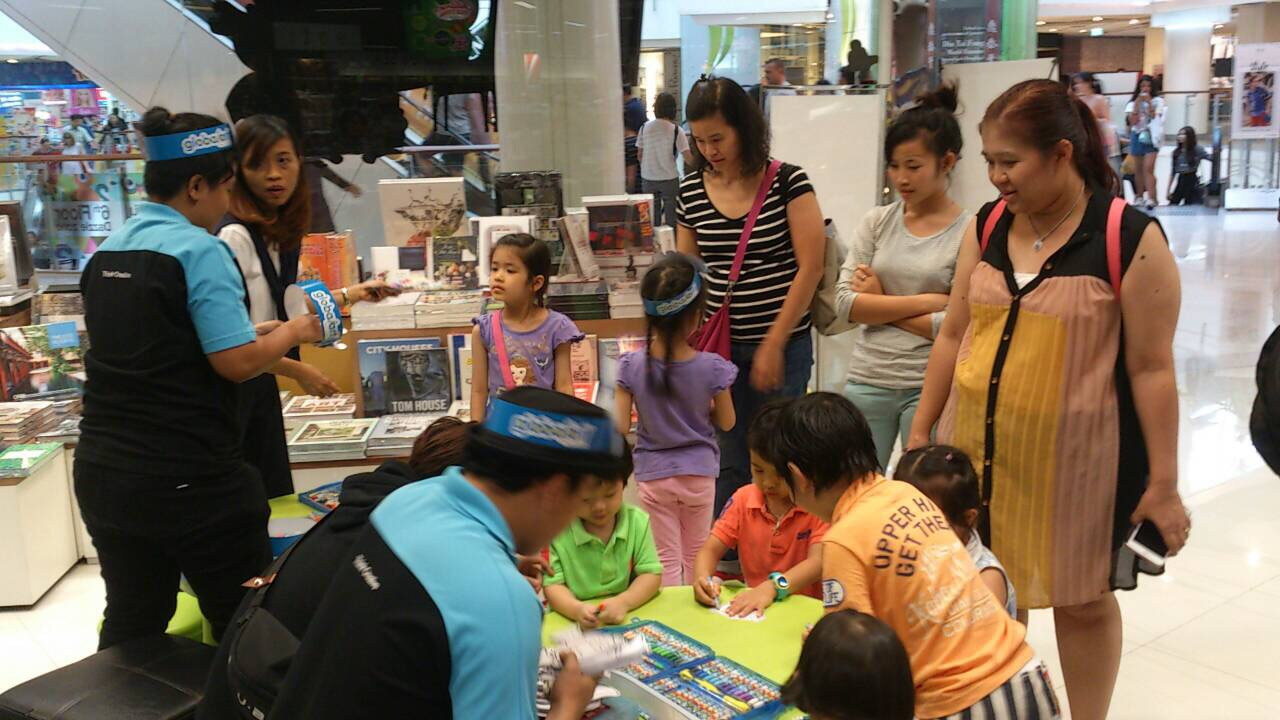 Things to Do for Kids @ Asia Books CentralWorld 2016